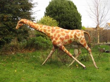 Giraffe. Mixed media