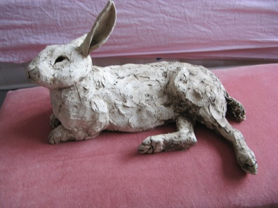 Rabbit. Clay